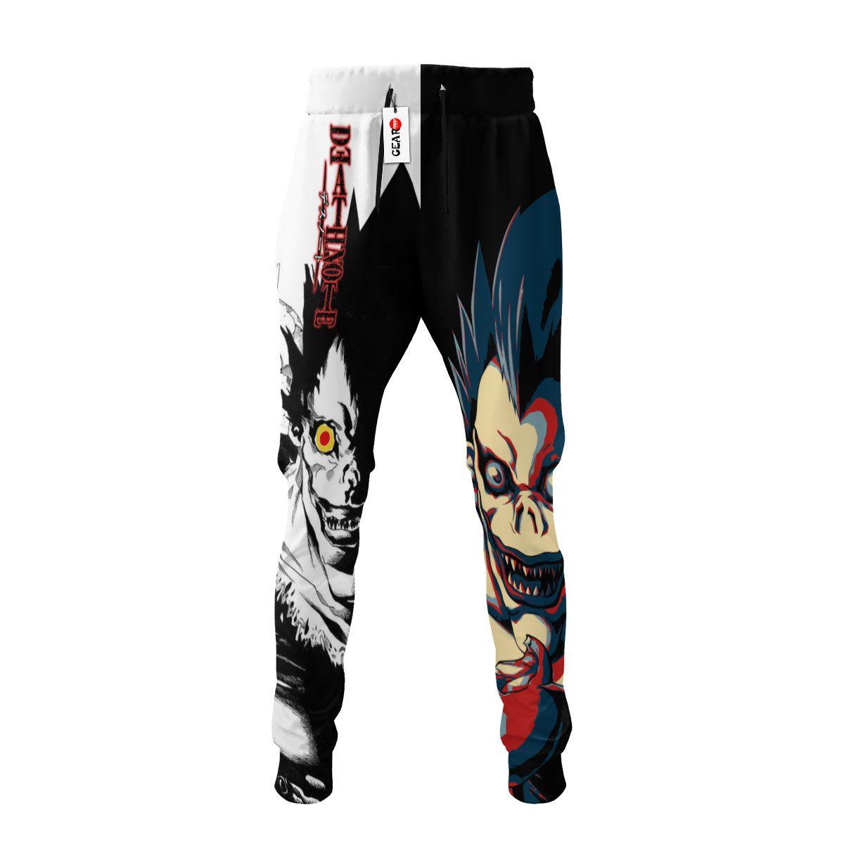 Ryuk Joggers Custom Death Note Anime Sweatpants G01210