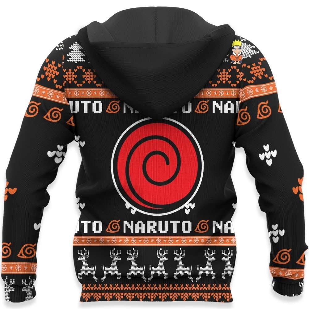 Uzumaki Naruto Ugly Christmas Sweater Custom Naruto Anime Xmas Gifts GO0110