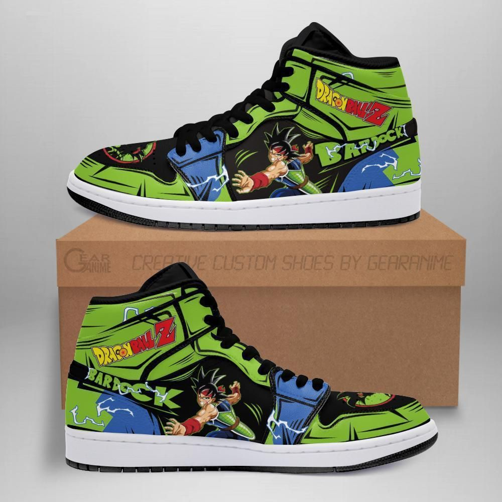 DBZ Bardock Sneakers Custom Anime Dragon Ball Z Shoes GO1210