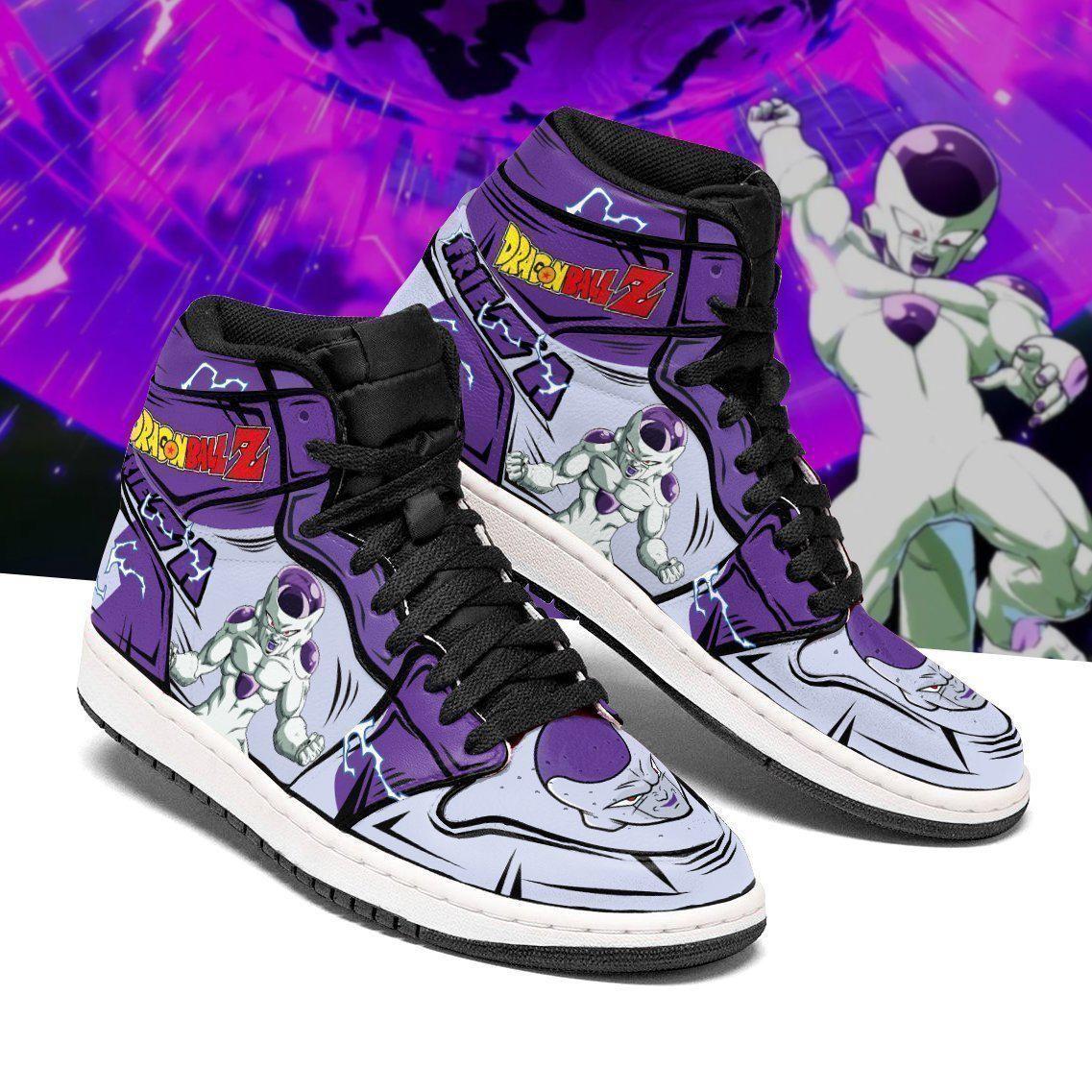 DBZ Frieza Sneakers Custom Anime Dragon Ball Z Shoes GO1210