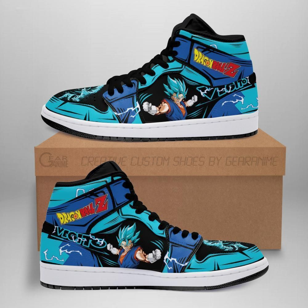 Vegito Blue Sneakers Custom Dragon Ball Z Anime Shoes GO1210