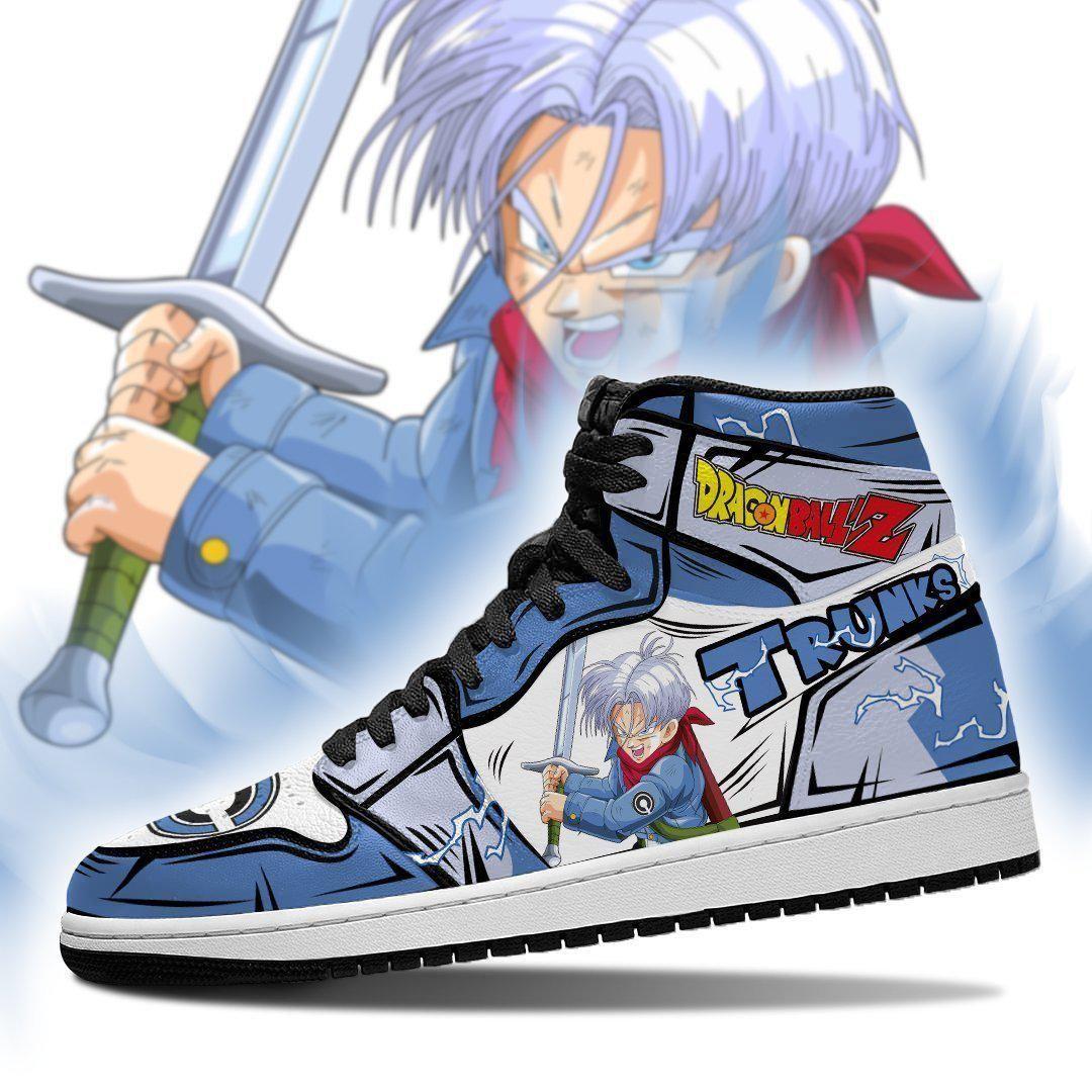 Trunks Sneakers Custom Anime Dragon Ball Z Shoes GO1210