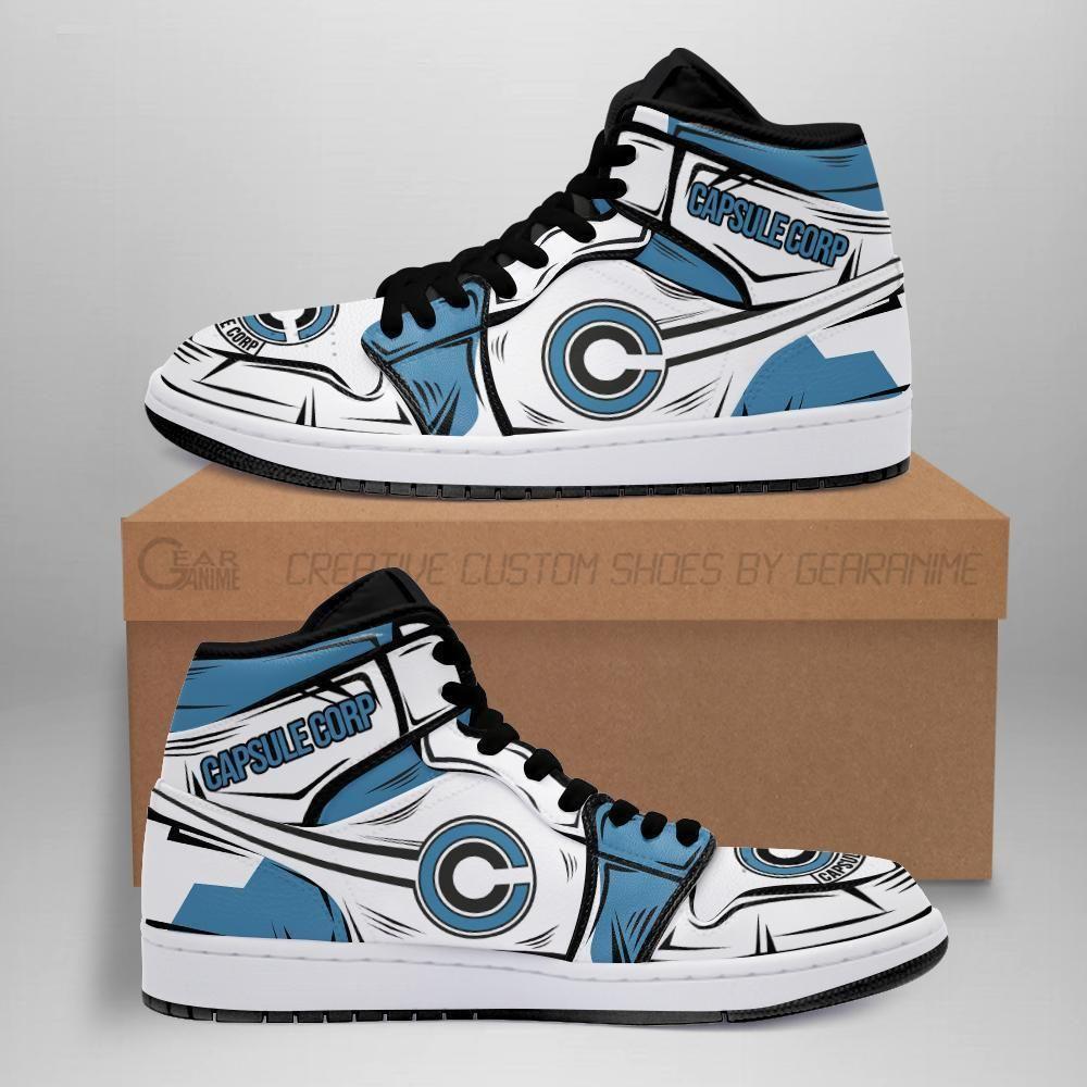 Capsule Corp Sneakers Custom Anime Dragon Ball Z Shoes GO1210