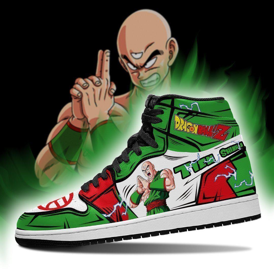 Tien Shinhan Sneakers Custom Anime Dragon Ball Z Shoes GO1210