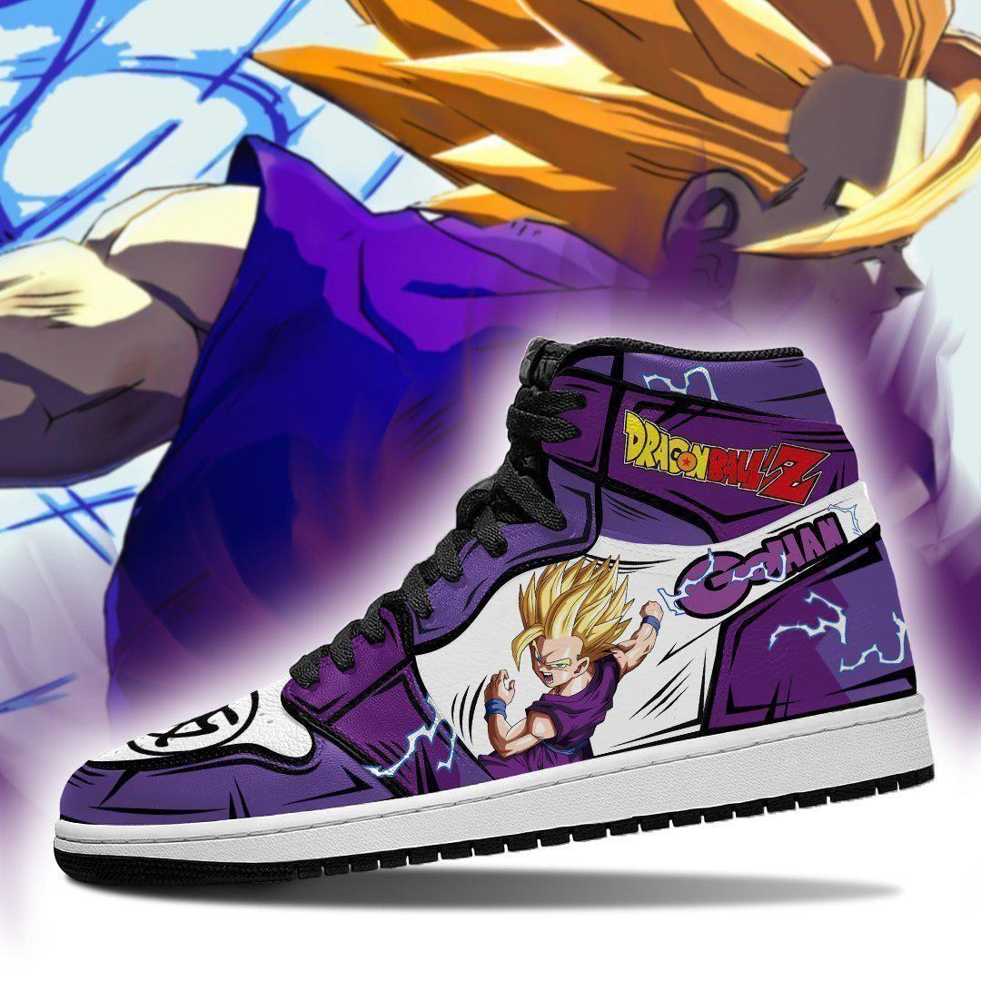 Gohan Sneakers Custom Anime Dragon Ball Z Shoes GO1210