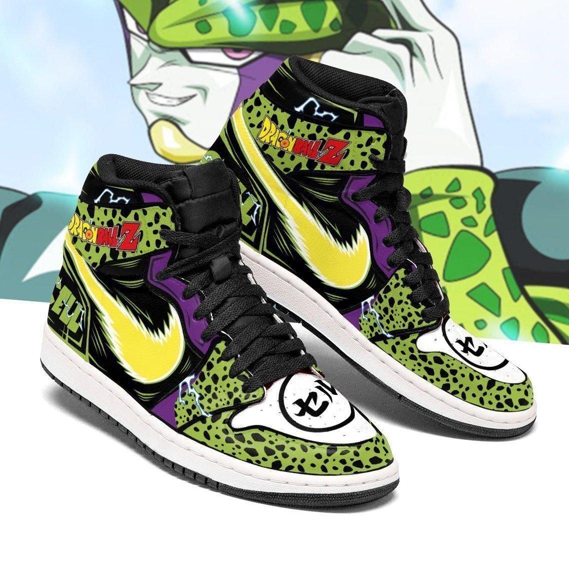 Dragon Ball Cell Sneakers Custom Anime Dragon Ball Z Shoes For Fan GO1210