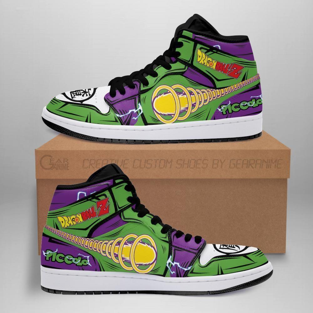 Piccolo Sneakers Custom Anime Dragon Ball Z Shoes For Fan GO1210