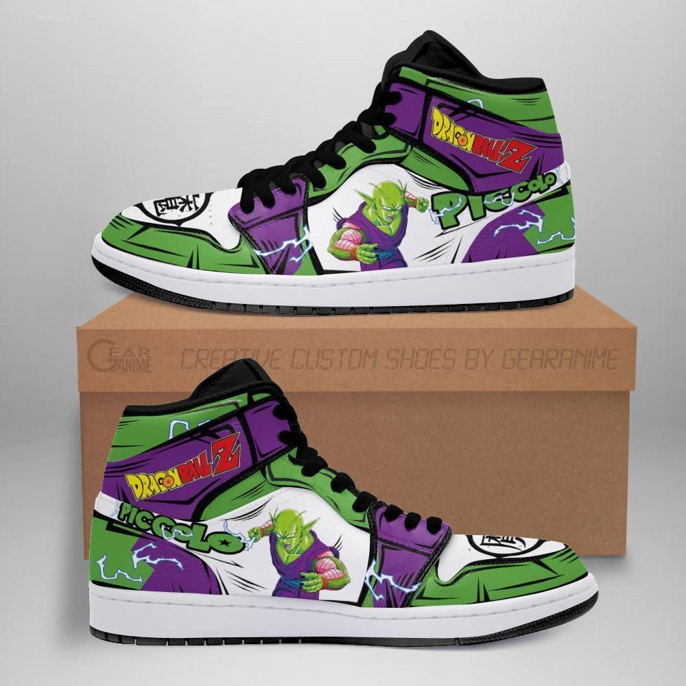 Piccolo Sneakers Custom Anime Dragon Ball Z Shoes GO1210