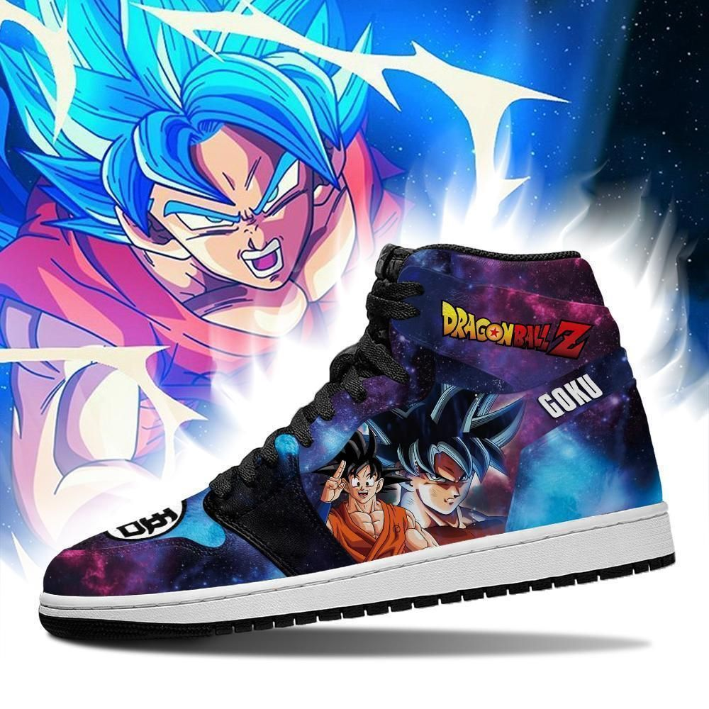 Goku Sneakers Galaxy Custom Dragon Ball Z Anime Shoes GO1210