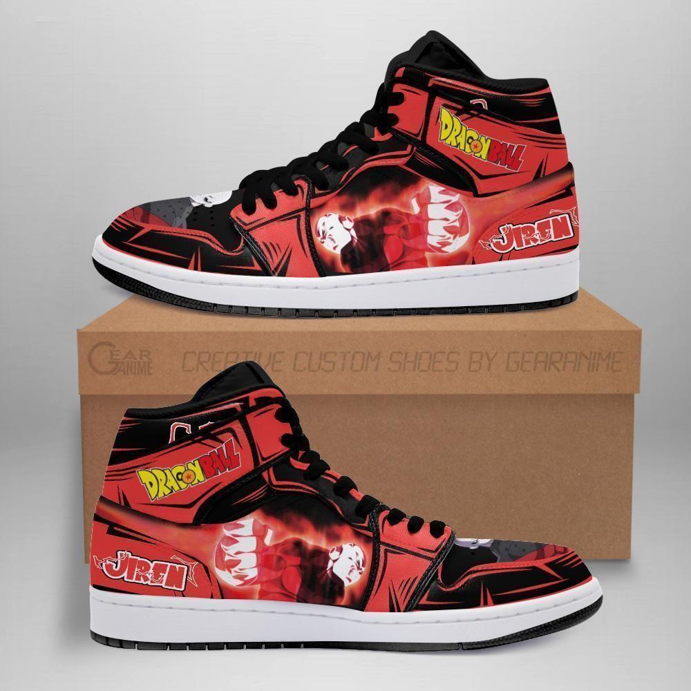 Jiren Sneakers Custom Anime Dragon Ball Super Shoes GO1210