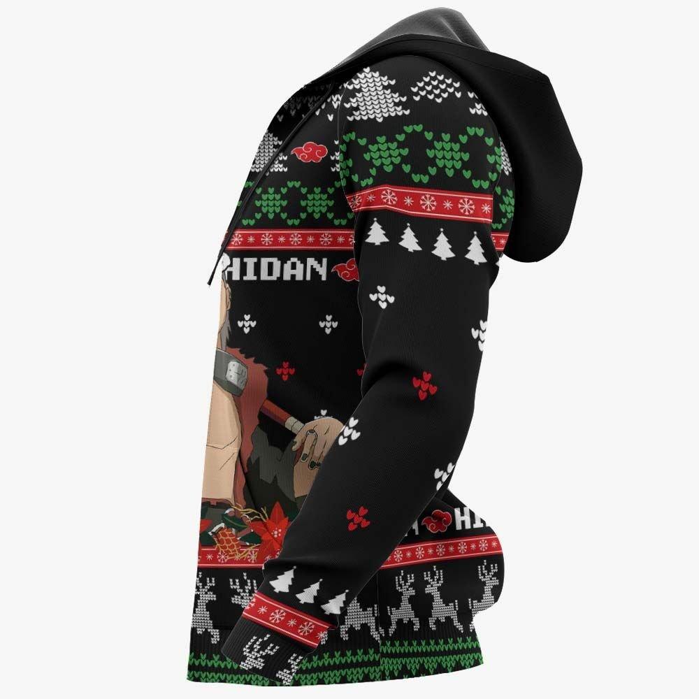Akatsuki Hidan Ugly Christmas Sweater Custom Naruto Anime Xmas Gifts GO0110