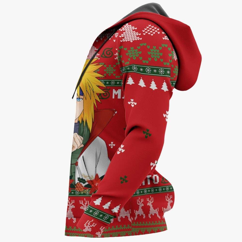 Namikaze Minato Ugly Christmas Sweater Custom Naruto Anime Xmas Gifts GO0110