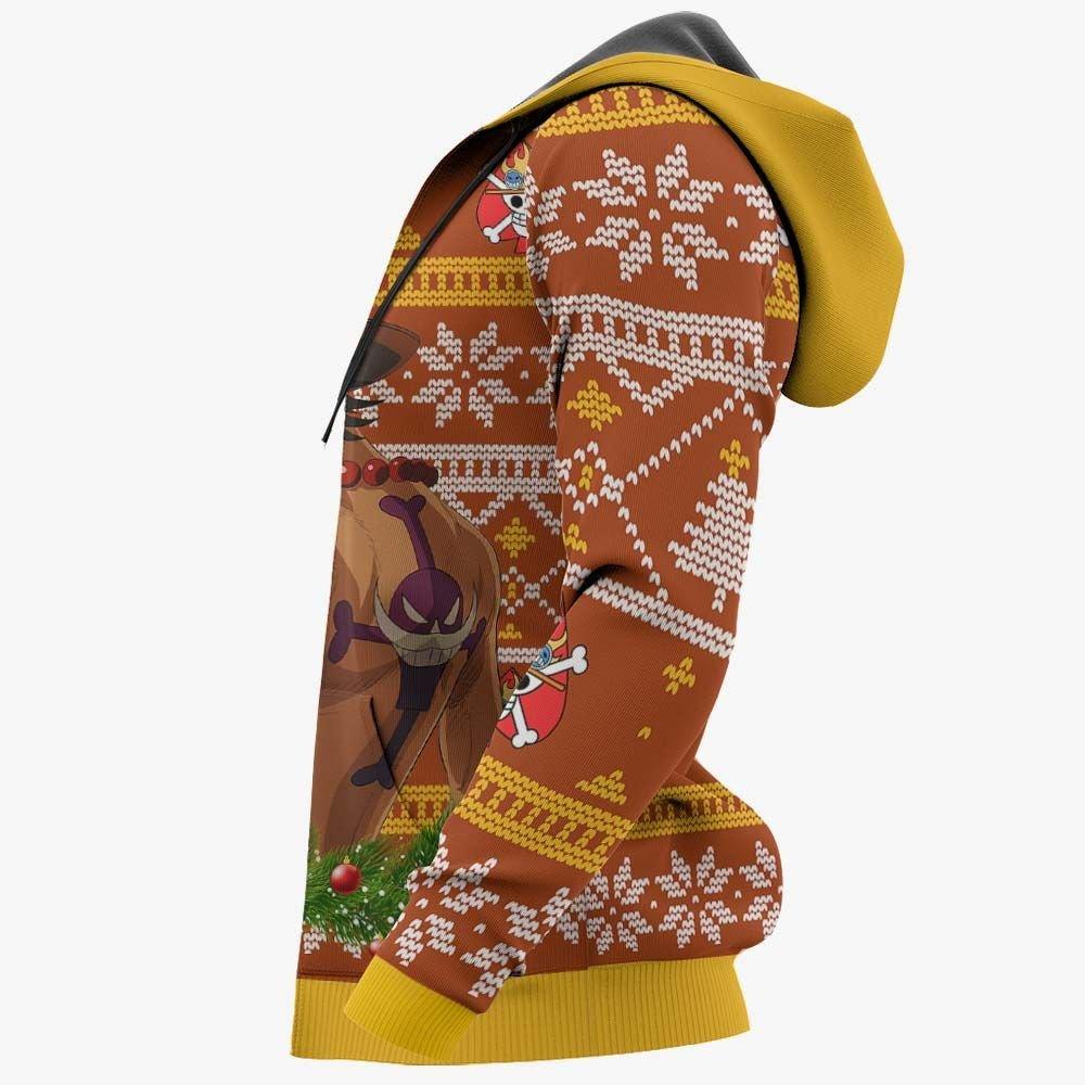 Portgas Ace Ugly Christmas Sweater Custom One Piece Anime Xmas Gifts GO0110