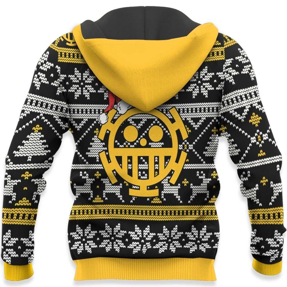 Trafalgar Law Ugly Christmas Sweater Custom One Piece Anime Xmas Gifts GO0110