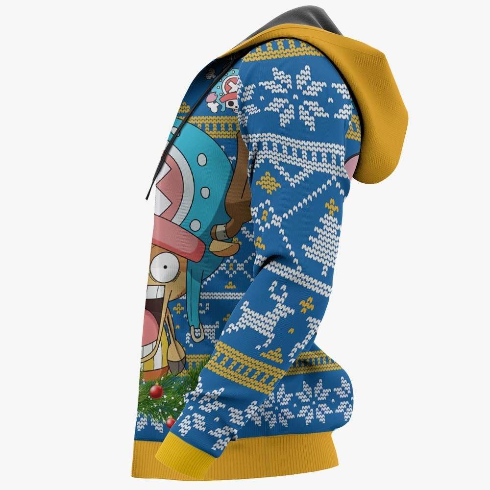 Chopper Ugly Christmas Sweater Custom One Piece Anime Xmas Gifts GO0110