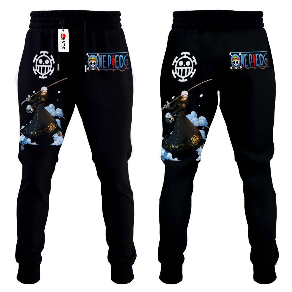 Trafalgar Law Joggers Custom Anime One Piece Sweatpants G01210