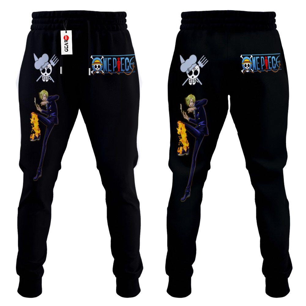 Vinsmoke Sanji Joggers Custom Anime One Piece Sweatpants G01210