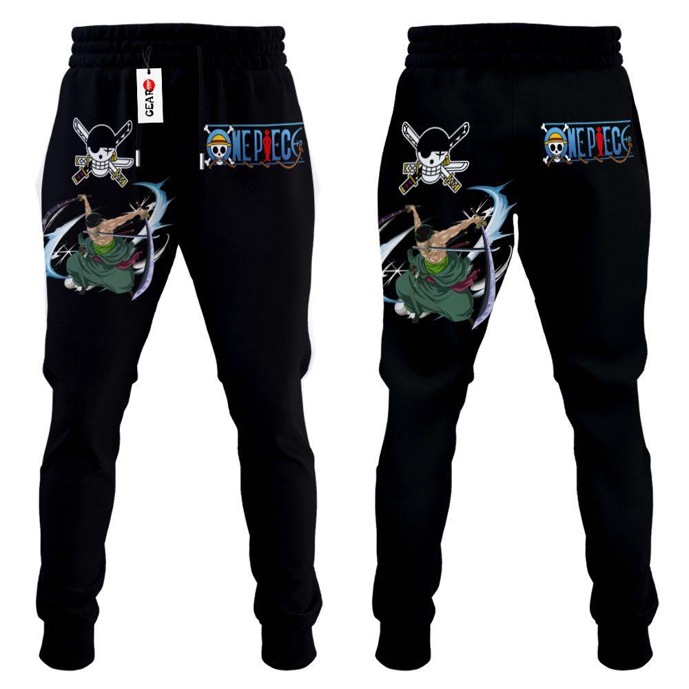 Roronoa Zoro Joggers Custom Anime One Piece Sweatpants G01210