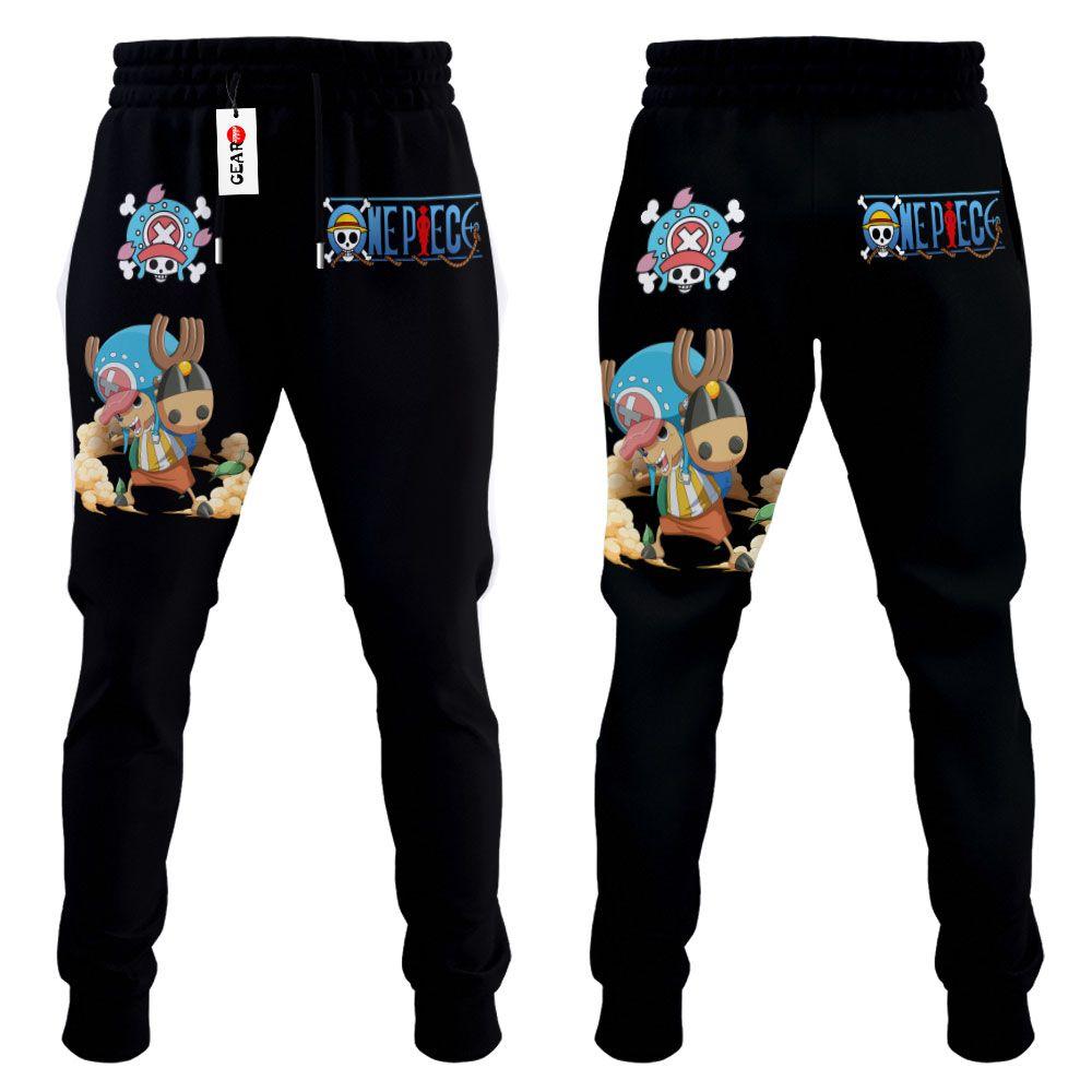 Tony Tony Chopper Joggers Custom Anime One Piece Sweatpants G01210