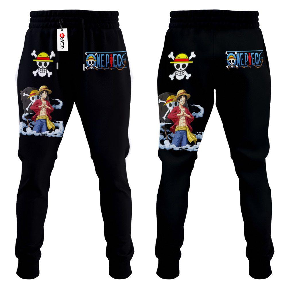 Monkey Luffy Joggers Custom Anime One Piece Sweatpants G01210