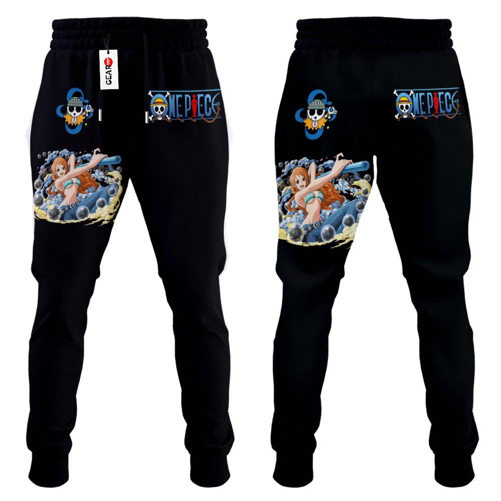 Nami Joggers Custom Anime One Piece Sweatpants G01210