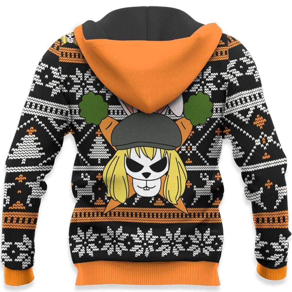 Carrot Ugly Christmas Sweater Custom One Piece Anime Xmas Gifts GO0110