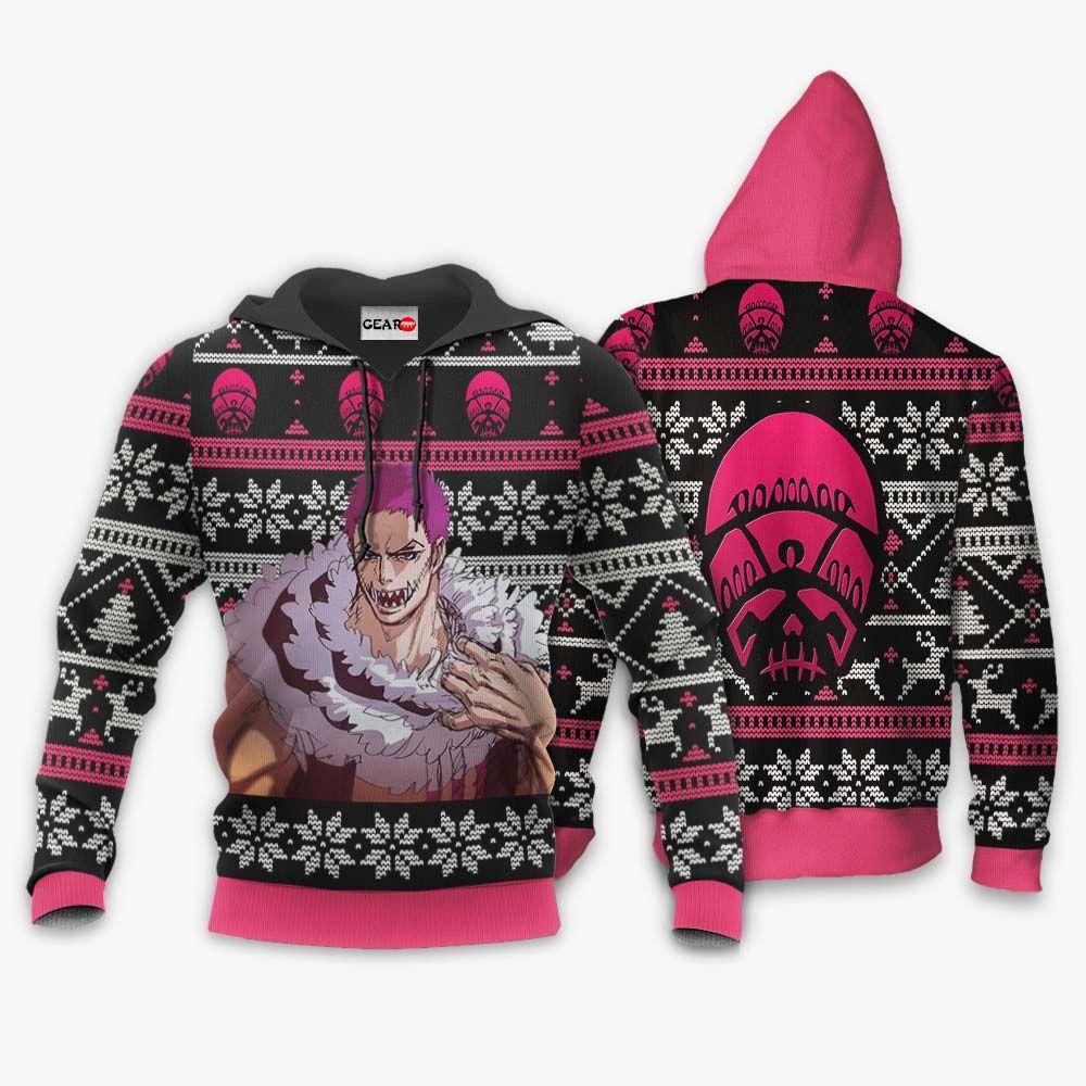 Charlotte Katakuri Ugly Christmas Sweater Custom One Piece Anime Xmas Gifts GO0110