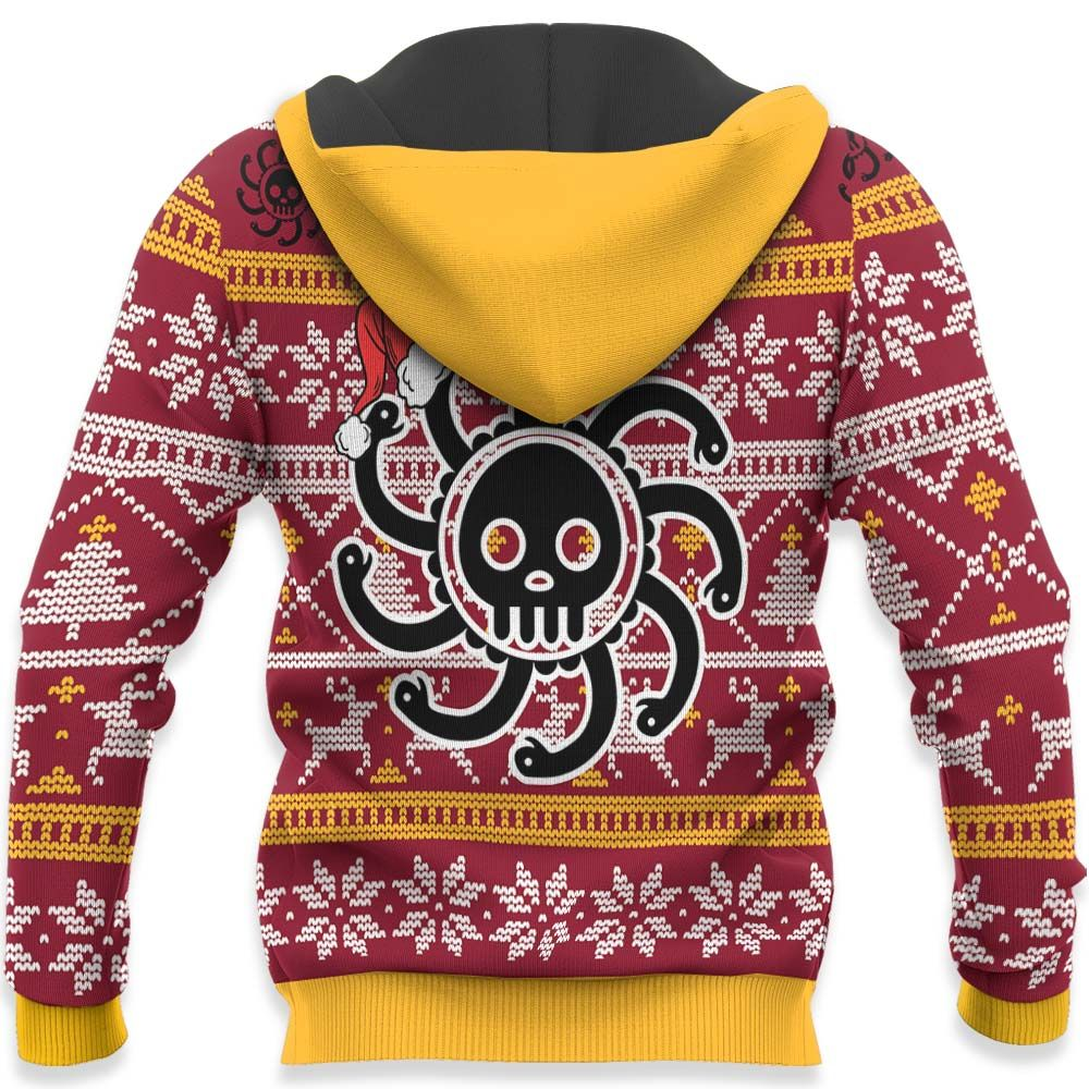 Boa Hancock Ugly Christmas Sweater Custom One Piece Anime Xmas Gifts GO0110