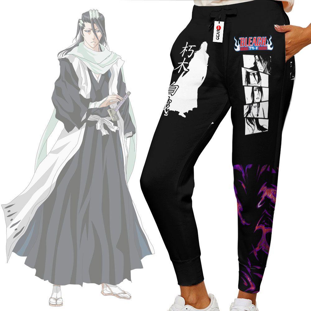 Byakuya Kuchiki Joggers Custom Anime Bleach Sweatpants G01210