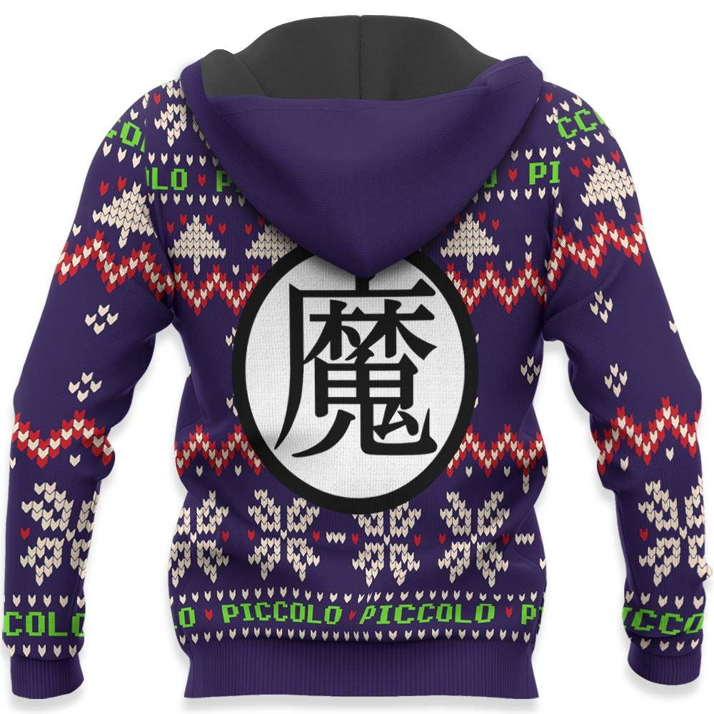 Piccolo Christmas Sweater Custom Anime Dragon Ball Xmas Gifts GO0110