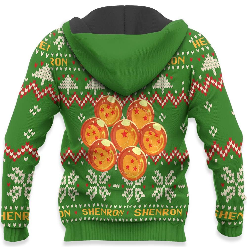 Shenron Ugly Christmas Sweater Custom Anime Dragon Ball Xmas Gifts GO0110