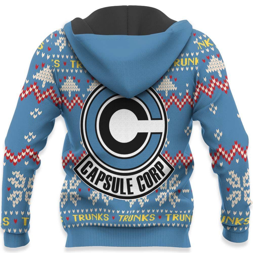 Future Trunks Ugly Christmas Sweater Custom Anime Dragon Ball Xmas Gifts GO0110