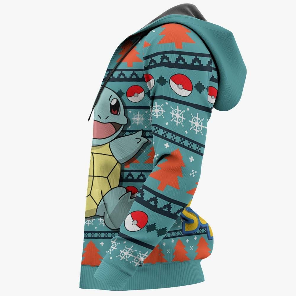 Squirtle Ugly Christmas Sweater Custom Anime Pokemon Xmas Gifts GO0110