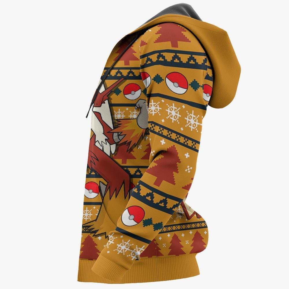 Blaziken Ugly Christmas Sweater Custom Anime Pokemon Xmas Gifts GO0110