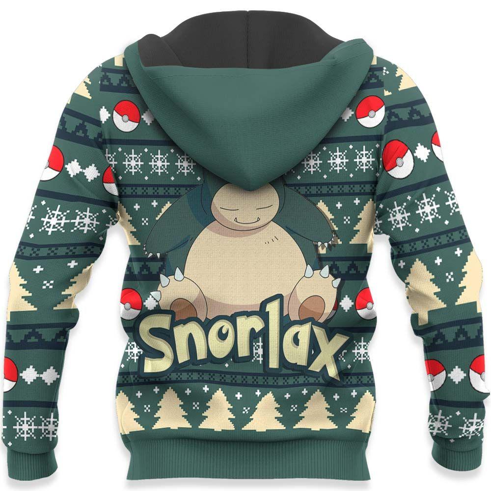Snorlax Ugly Christmas Sweater Custom Anime Pokemon Xmas Gifts GO0110