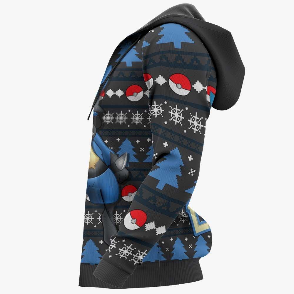 Lucario Ugly Christmas Sweater Custom Anime Pokemon Xmas Gifts GO0110