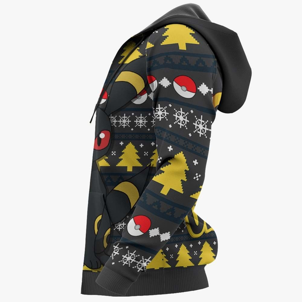Umbreon Ugly Christmas Sweater Custom Anime Pokemon Xmas Gifts GO0110