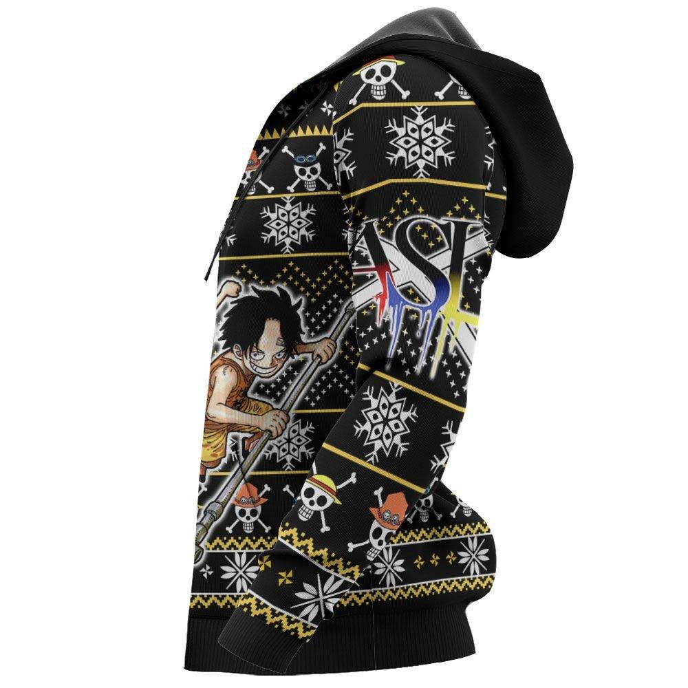 ASL Pirates Ugly Christmas Sweater Custom Anime One Piece Xmas Gifts GO0110