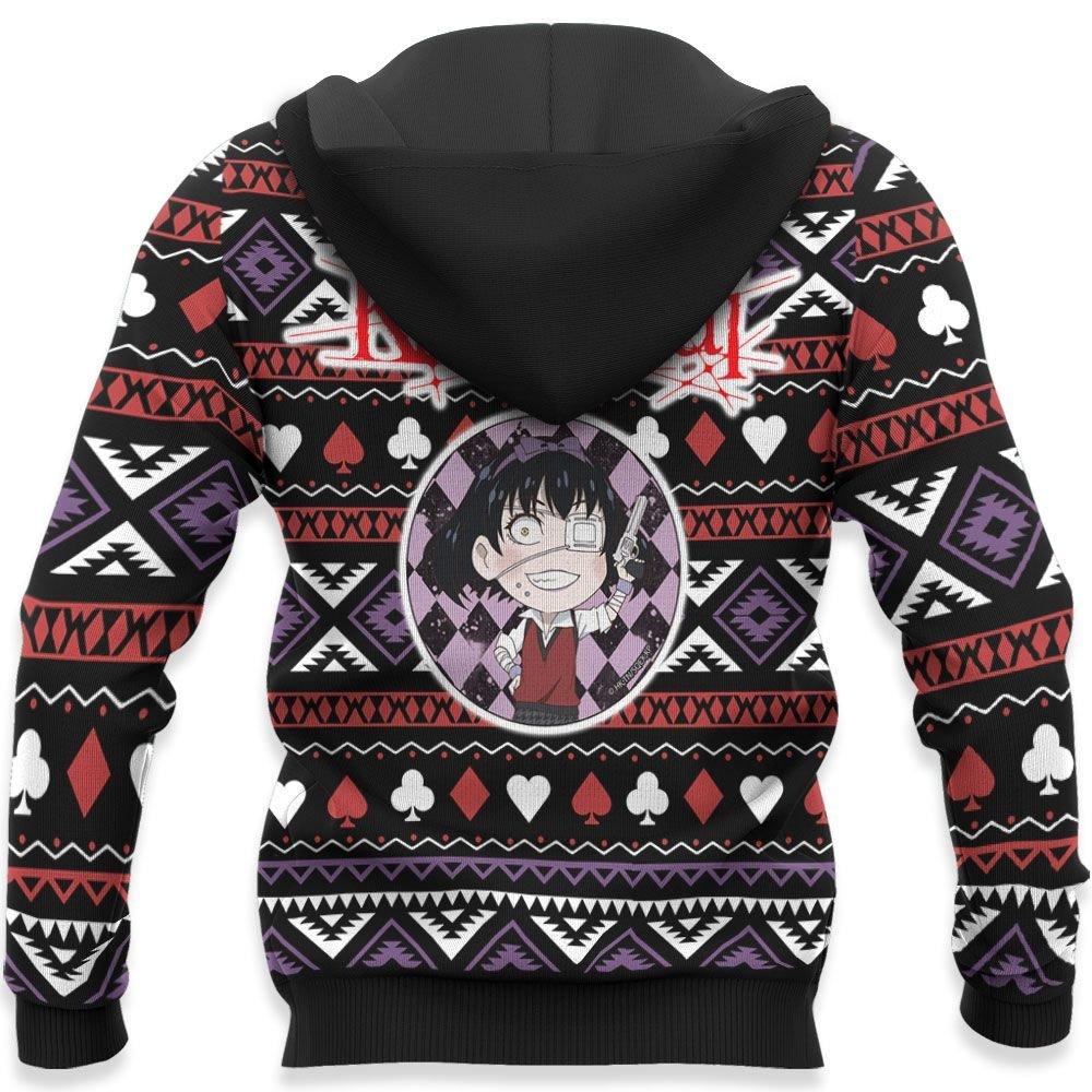 Midari Ikishima Ugly Christmas Sweater Custom Anime Kakegurui Xmas Gifts GO0110