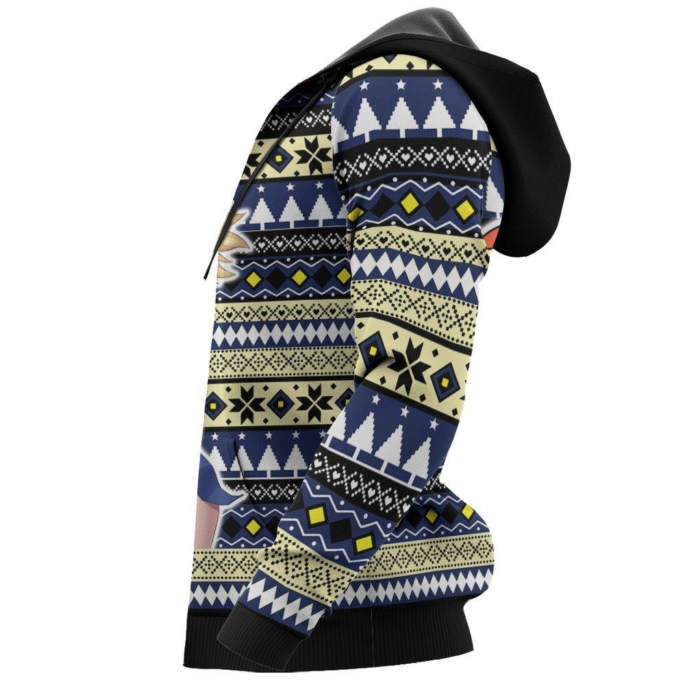 Kohaku Ugly Christmas Sweater Custom Anime Dr Stone Xmas Gifts GO0110