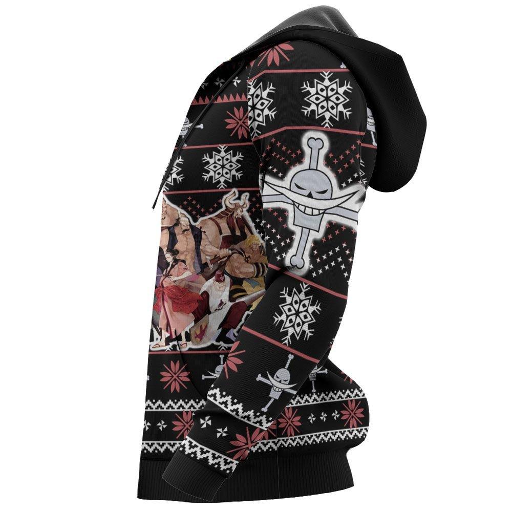 Whitebeard Pirates Ugly Christmas Sweater Custom Anime One Piece Xmas Gifts GO0110
