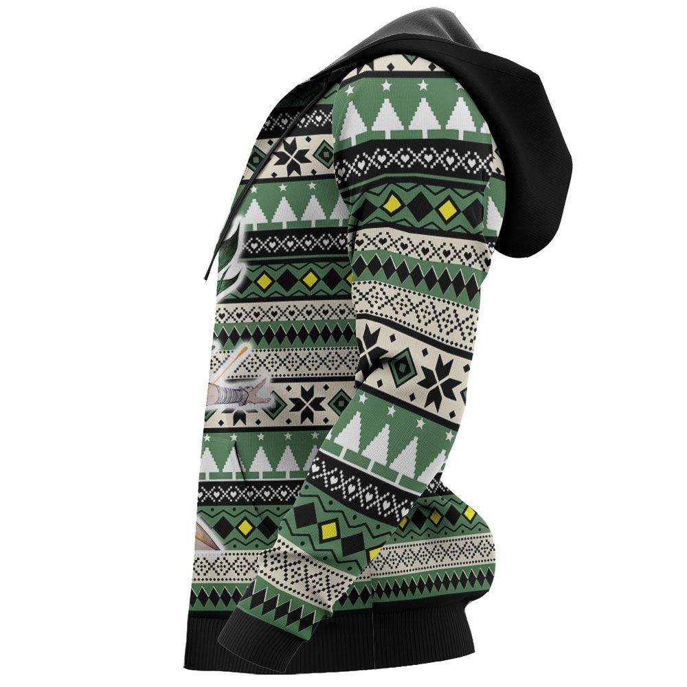 Senku Ishigami Ugly Christmas Sweater Custom Anime Dr Stone Xmas Gifts GO0110