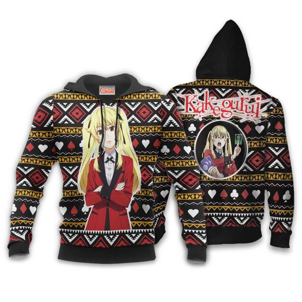 Mary Saotome Ugly Christmas Sweater Custom Anime Kakegurui Xmas Gifts GO0110