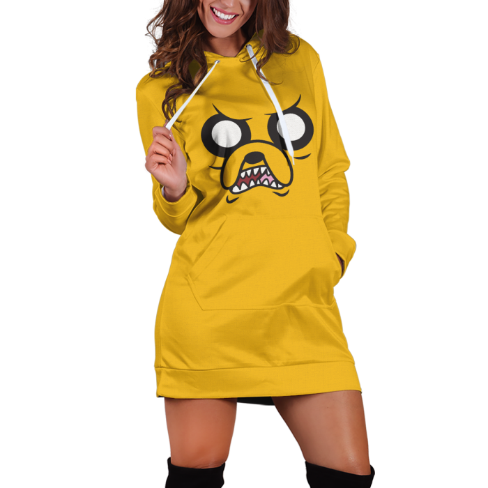 Jake Adventure Time v1 Hoodie Dress Official Merch FDM3009 XS Official Otaku Treat Merch