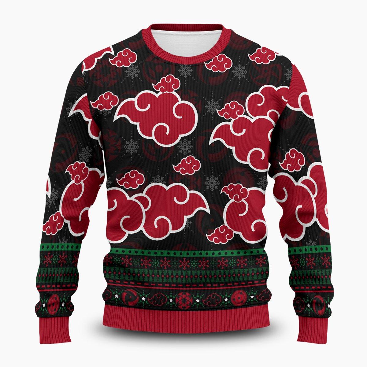 Akatsuki Sharingan Unisex Wool Sweater FDM0310 S Official Otaku Treat Merch