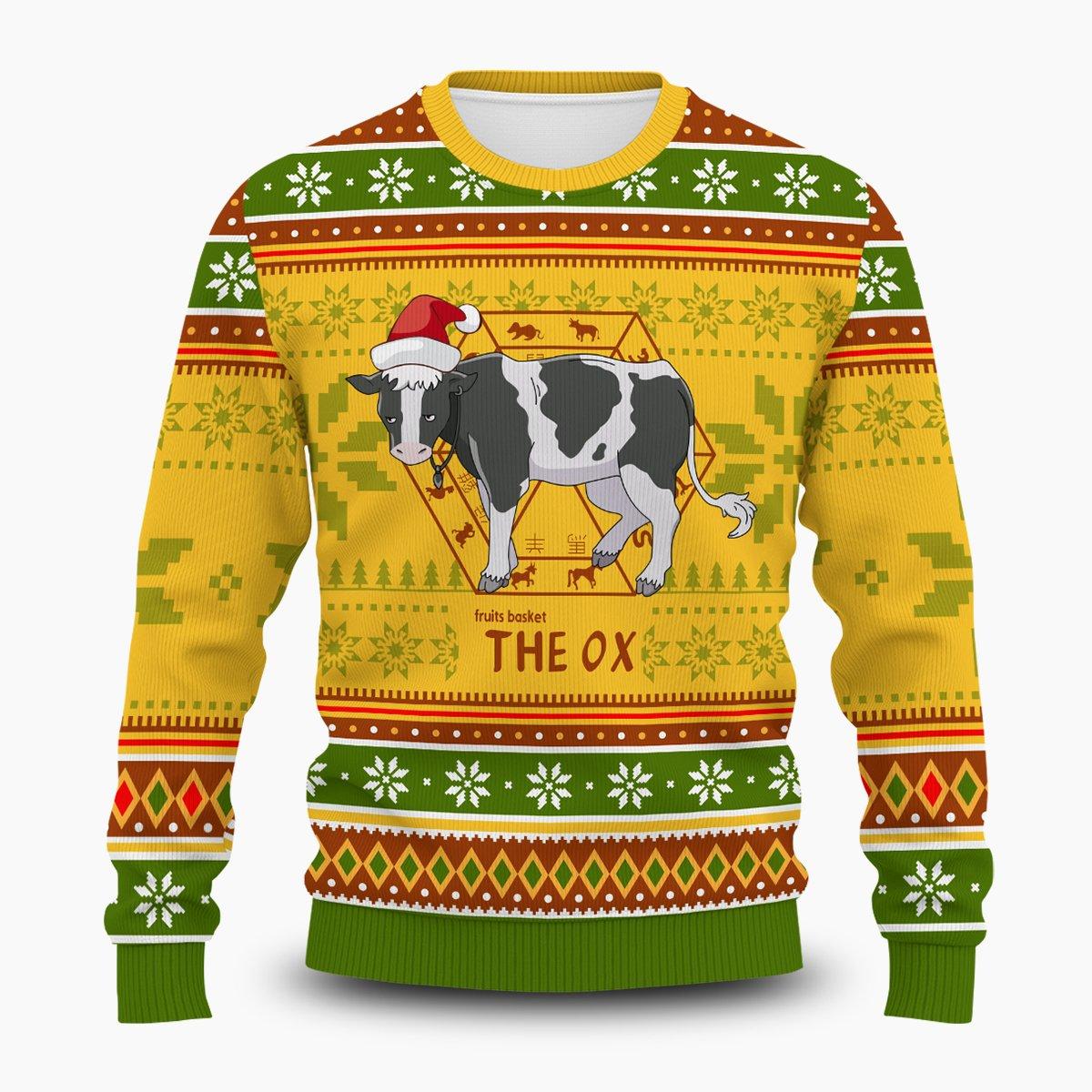 Haru the Ox Unisex Wool Sweater FDM0310 S Official Otaku Treat Merch