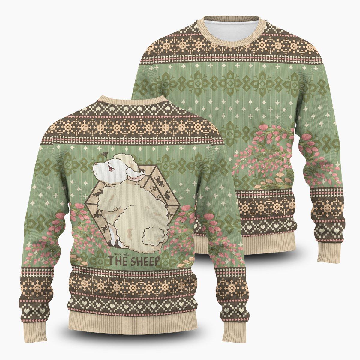 Hiro The Sheep Unisex Wool Sweater FDM0310 S Official Otaku Treat Merch
