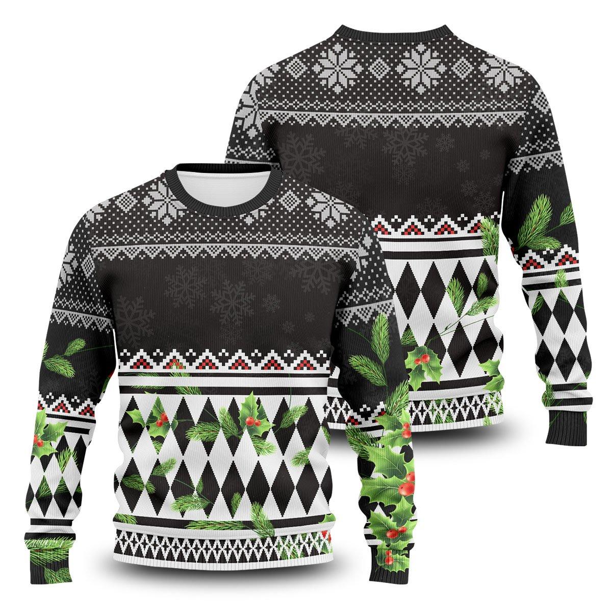 Ken Ryuguji Unisex Wool Sweater FDM0310 S Official Otaku Treat Merch
