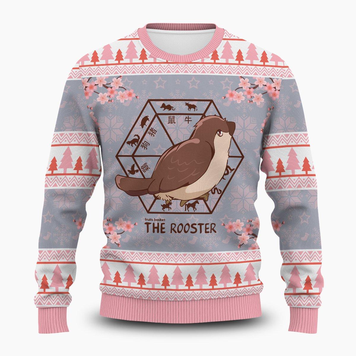 Kureno The Rooster Unisex Wool Sweater FDM0310 S Official Otaku Treat Merch