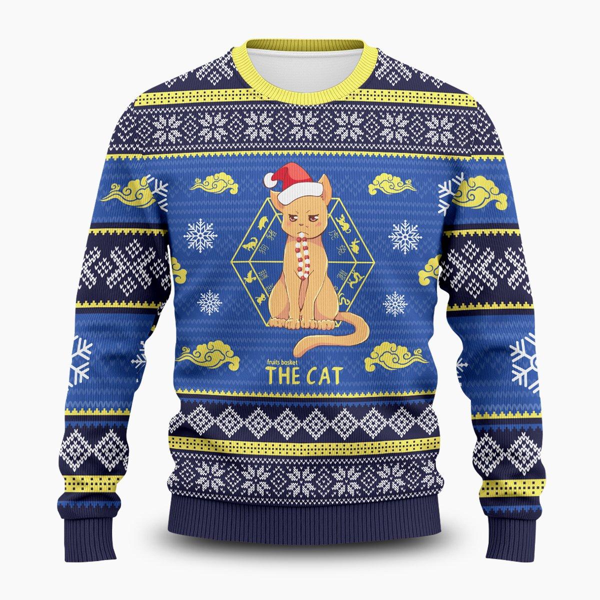 Kyo the Cat Unisex Wool Sweater FDM0310 S Official Otaku Treat Merch